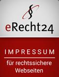 erecht24-Lawyer seal-site notice-